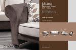 Milano cetvorosed, trosed, dvosed i fotelja