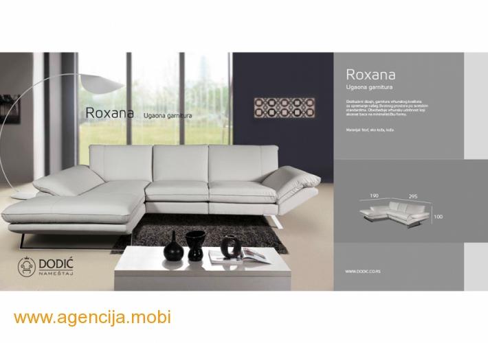 Roxana Roksana ugaona garnitura
