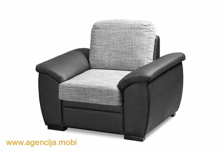 Fotelja CUBA II sivo crno Matis Soko banja